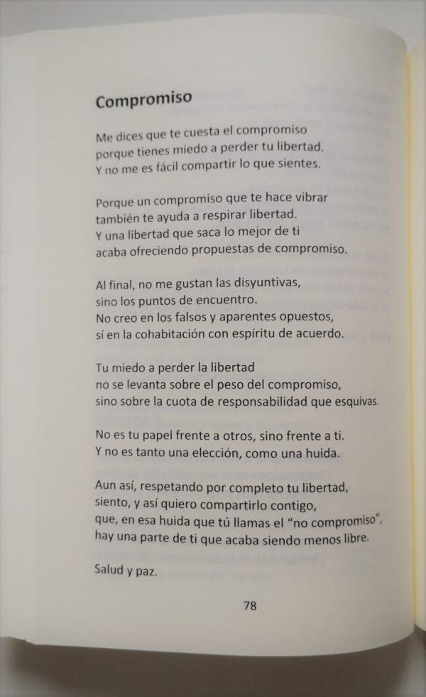Poema de Luis Bueno en su nuevo libro